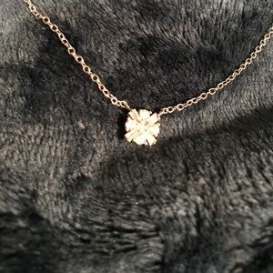 Jewelry - Sterling silver and CZ beautiful necklace