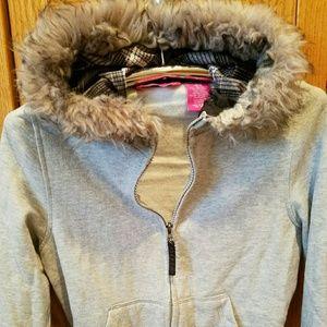 Weatherproof Other - Weatherproof Girls Thick Cotton Zip Hoody