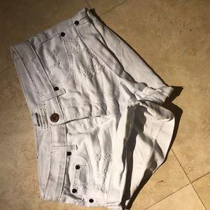 One Teaspoon Pants - White One Teaspoon Shorts