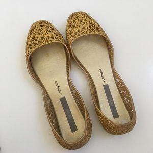 Melissa Shoes - { Melissa + Campana } glitter flats ‼️PRICE FIRM‼️