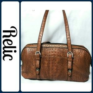 Relic Handbags - Relic Crocodile Large Handbag