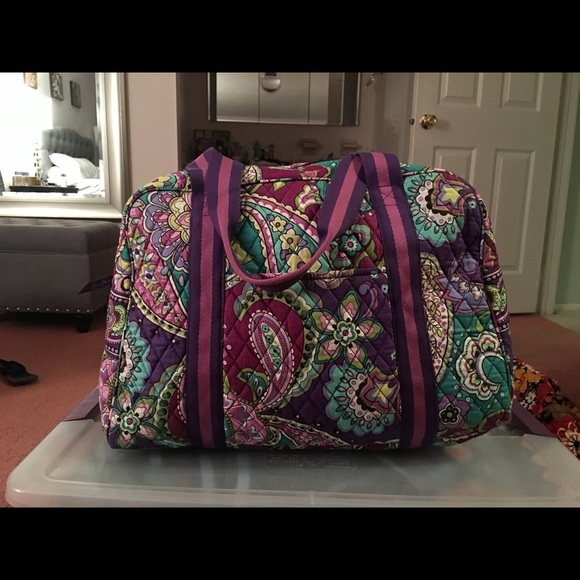 Gym Bag Vera Bradley: 43% Off Vera Bradley Handbags