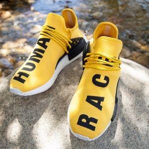 Adidas Other - adidas Pharrell NMDs human race yellow
