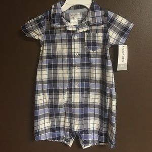 Carter's Other - Baby Boy Carter's Plaid Romper