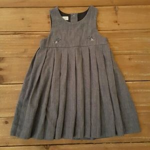 Tartine et Chocolat Other - Tartine et Chocolat Pleated Denim Dress