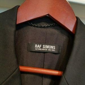Raf Simons Jackets & Blazers - RAF SIMONS AW2002-2003 CHESTERFIELD