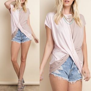 TOBIE sleeveless  top - L. PINK