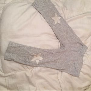 Uncommon Other - Star Gray Leggings 5