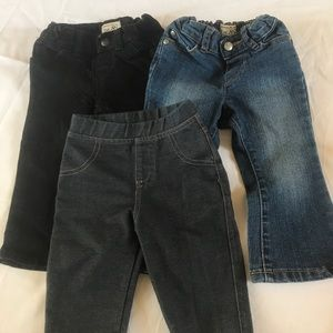Girls Bundle Of jeans & Jeggings