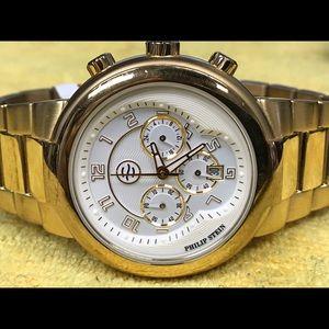 Philip Stein Teslar Other - Philip stein Mens gold tone watch