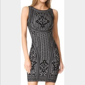 "Herve Leger ""jazmin"" dress size medium"
