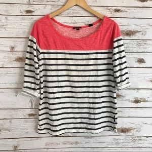 maison scotch Tops - Maison scotch j' adore mon tee