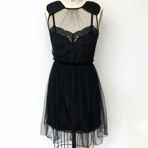 Rodarte Dresses & Skirts - FINAL !! 😍RODARTE Black Tulle Slip Dress XS