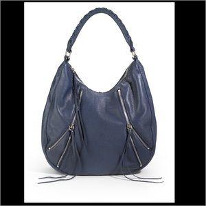 Linea Pelle Handbags - Linea Pelle New! Blue leather hobo bag