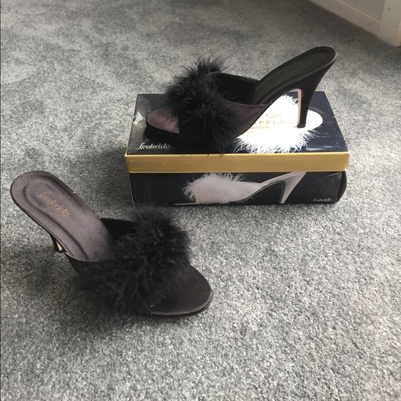 Frederick S Of Hollywood Shoes Fredericks Of Hollywood Bedroom Heels Slippers Poshmark