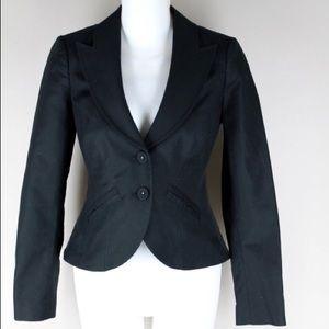 Rebecca Taylor black blazer jacket size 4