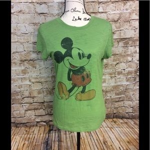 Disneyland Tops - Disneyland green short sleeve Mickey Mouse T-shirt