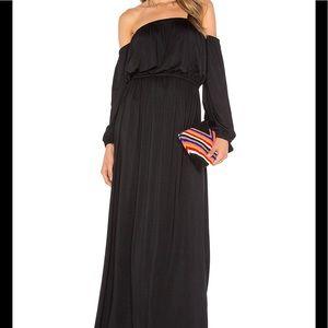 Rachel Pally Dresses & Skirts - Rachel Pally Black Off-the-Shoulder Maxi Dress