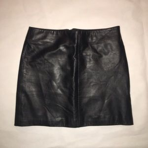 Old Navy Dresses & Skirts - Old navy leather skirt