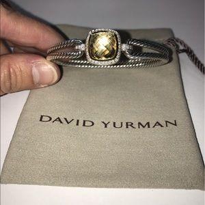 David Yurman Jewelry - David Yurman Albion Champ Citrine Diamond Bracelet