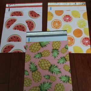Handbags - 30 Poly Mailers pineapples self seal bags 10X13