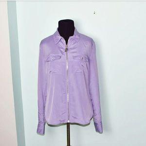 Michael Kors Tops - Michael Kors Lavender Colored Flowy Blouse