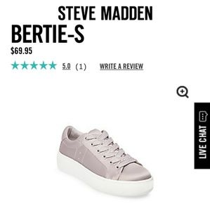 🌺 Steve Madden Bertie-S Grey Satin Shoes Size 5