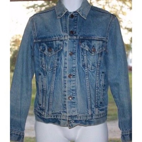Levi S Jackets Coats Levis Red Tab 70506 Jean Jacket Mens Size