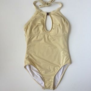 Everything But Water Swimsuit - Pale Yellow