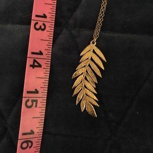 Gorjana Jewelry - Gorjana leaf feather necklace RARE