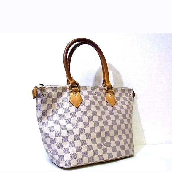 022fee7baf75 Louis Vuitton Handbags - Auth LV Demier Azur Salaya tote