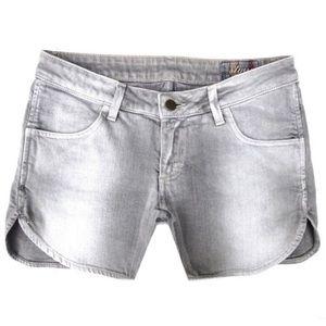 Siwy Pants - SIWY Denim Scarlett Gray Denim Shorts