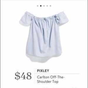 Tops - Pixley Carlton Off-The-Shoulder Top