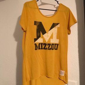 Original Retro Brand Tops - Mizzou open back shirt