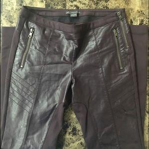 Armani Exchange Pants - Armani Exchange stunning leather pants/leggings