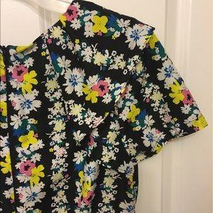 Oasis Floral Skater  multicolor dress