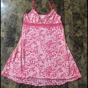 Ambrielle Other - Ambrielle pink leopard print lace sleep ware.