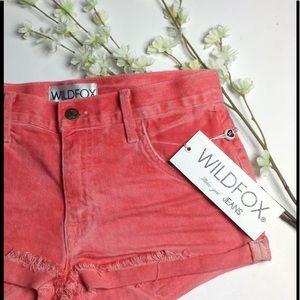 "Wildfox Pants - 🆕 ✨HP✨ Wildfox ""Michelle Shorts"