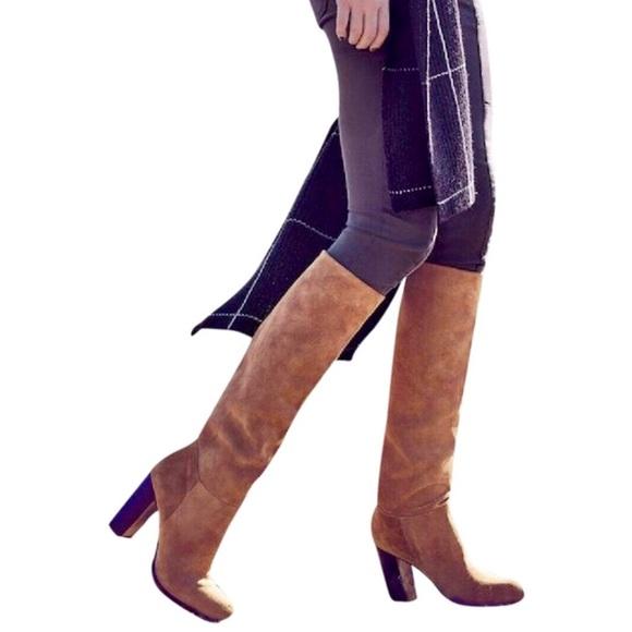 088714f5d187 SALE✨ BNIB Sam Edelman Victoria Camel Slouch Boots
