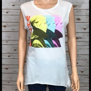 Chaser Tops - NWT Chaser David Bowie Shirt
