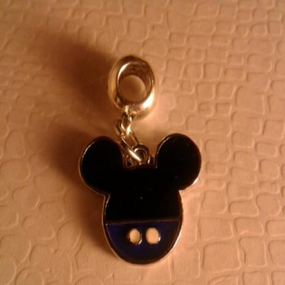 Mickey Mouse Charm Bracelet: Mickey Mouse Silver Plated Bracelet/Necklace