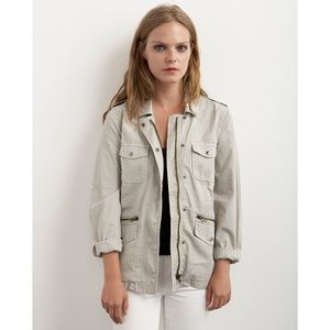 Velvet Jackets & Blazers - Lily Aldridge for Velvet Ruby Utility Jacket
