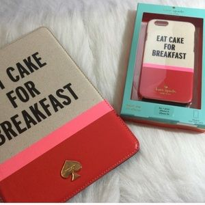 kate spade Accessories - Kate Spade Eat Cake iPhone 6+ Case