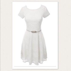 Dresses & Skirts - ♡SOLD♡ NWOT ivory lace dress