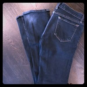 Jbrand straight leg jeans dark wash