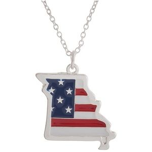 Jewelry - 🇺🇸Silver Tone Missouri State Necklace