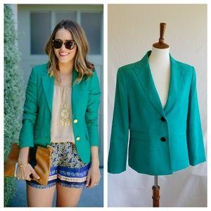 Le Suit Jackets & Blazers - Le Suit Vintage Teal Blazer