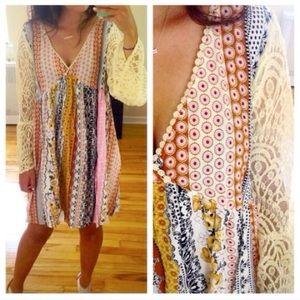Molly Dolly Dresses & Skirts - 🌺S-XXXL🌺 Boho Loose Flowy Summer Dress Patchwork