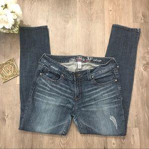 refuge Denim - Refuge Dark wash skinny jeans Womens 10s