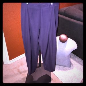 Lauren Vidal Pants - Lauren Vidal Capsyl pants in plum size 8 NWOT!